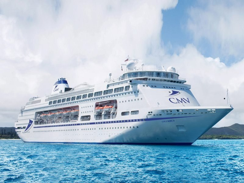 Cruise and maritime voyages ship