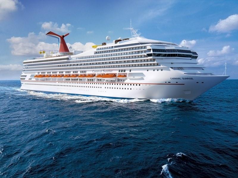 Carnival Cruise Line Sunrise
