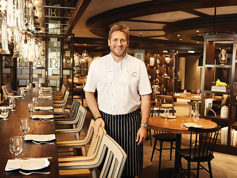 Celebrity Chef Dining on Cruise Ships