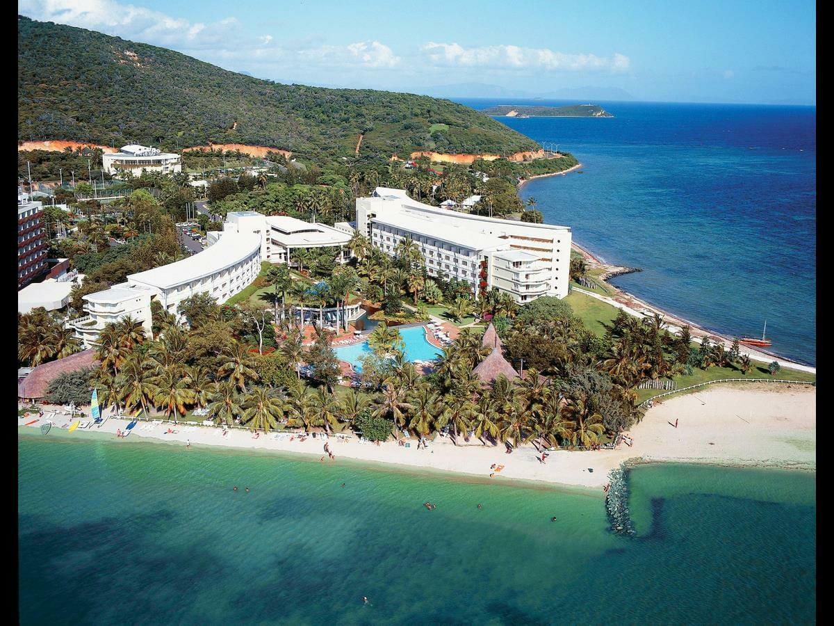 Le Meridien Noumea Gallery Image of Aerial of Resort Area