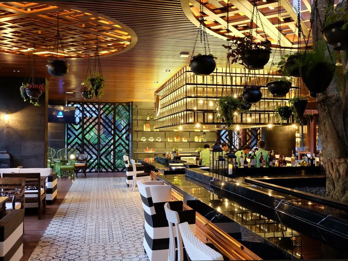 Hotel Indigo Bali Seminyak Gallery Image of Tree Bar