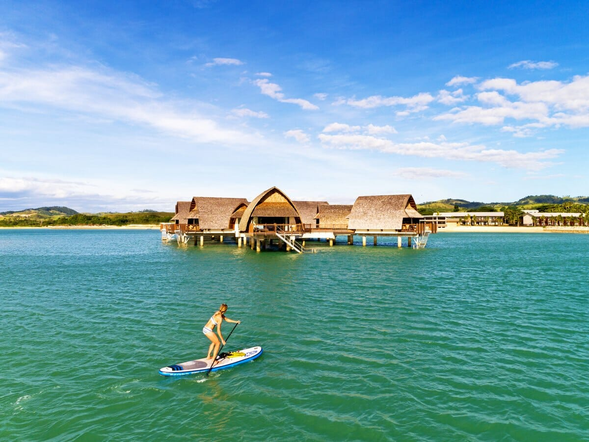Fiji Marriott Momi Bay Gallery Image of Stand Up Paddle Boarding