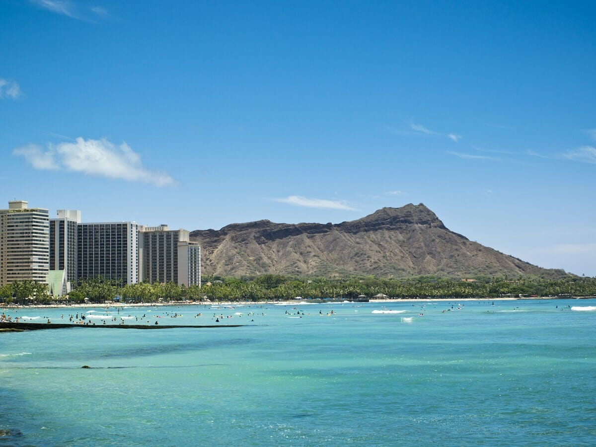 Sheraton Princess Kaiulani Gallery Image of Diamond Head