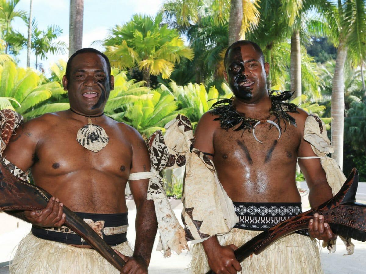 Fiji Hideaway Resort & Spa Gallery Image of Local Fijians