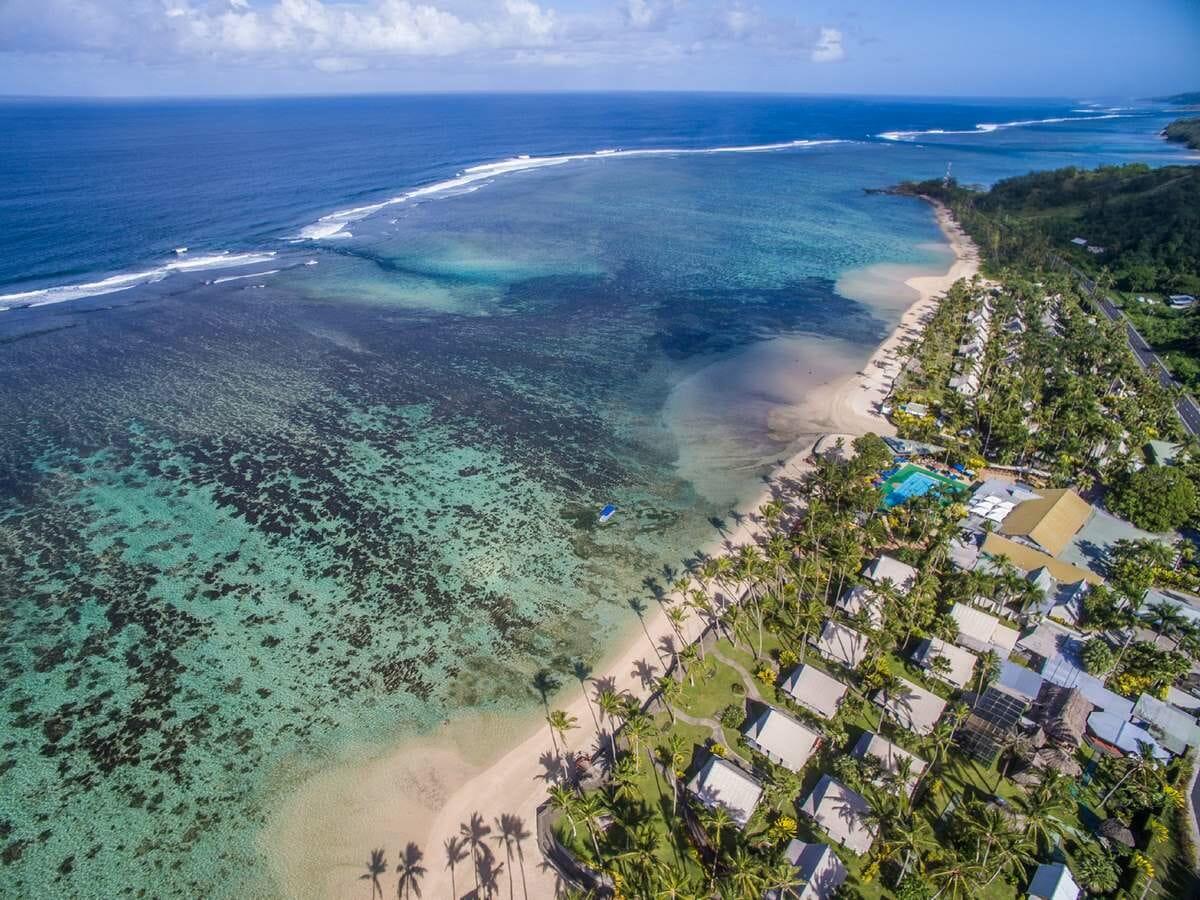Fiji Hideaway Resort & Spa Gallery Image of Aerial of Resort Area
