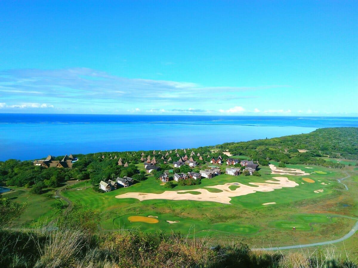 Sheraton New Caledonia Deva Spa & Golf Resort Gallery Image of Aerial of Resort
