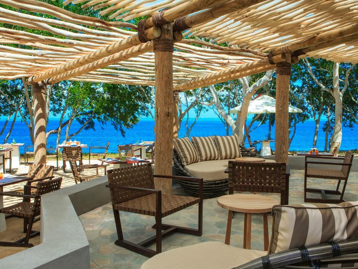 Sheraton New Caledonia Deva Spa & Golf Resort Gallery Image of Sand Beach Grill
