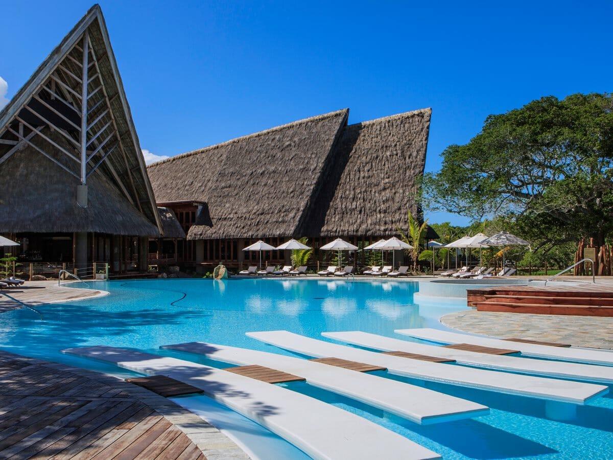 Sheraton New Caledonia Deva Spa & Golf Resort Gallery Image of Swimming Pool Area