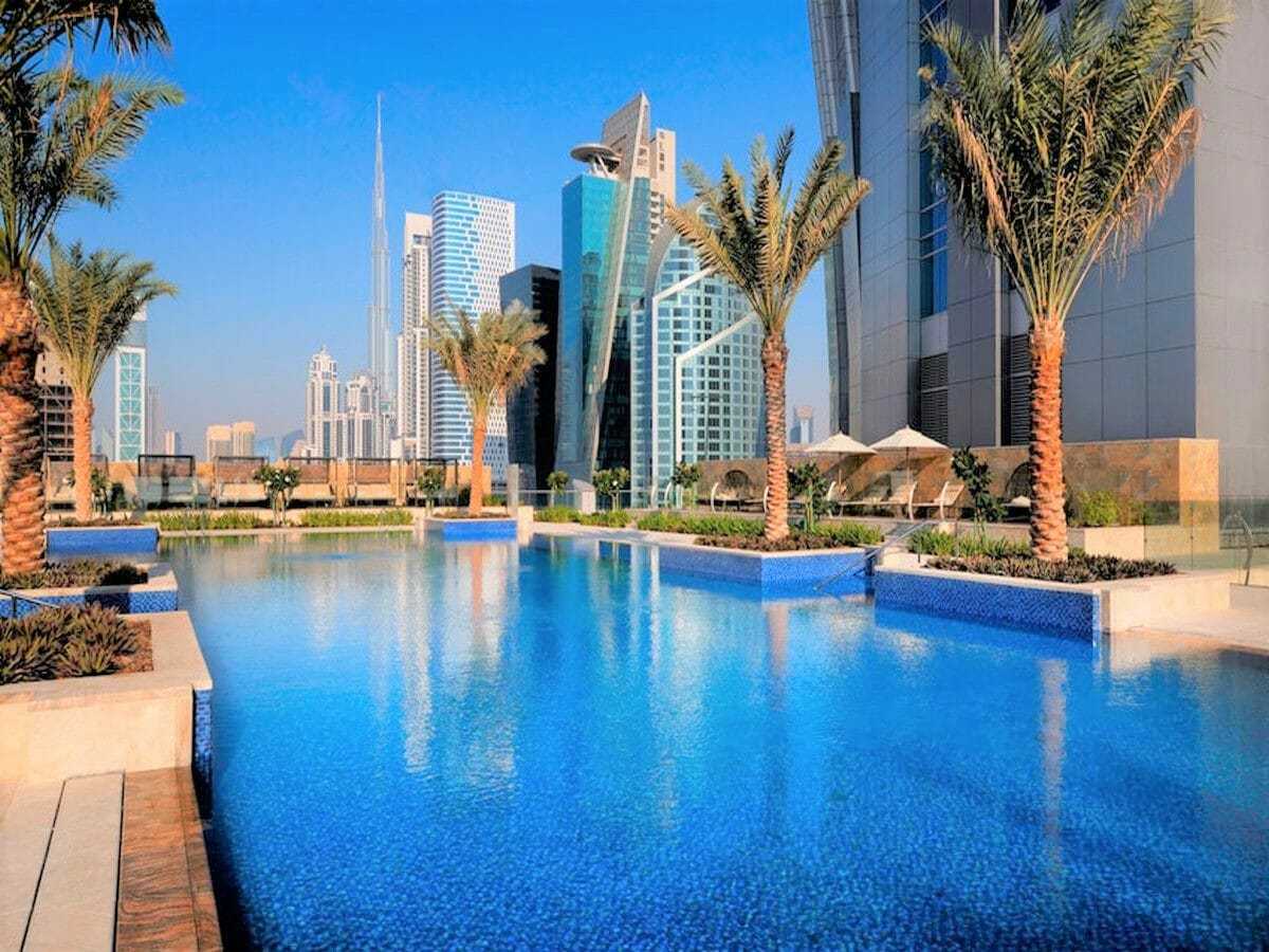 JW Marriott Marquis Dubai Gallery Image of Swimming Pool