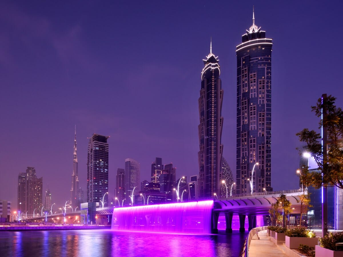 JW Marriott Marquis Dubai Gallery Image of Exterior of Hotel