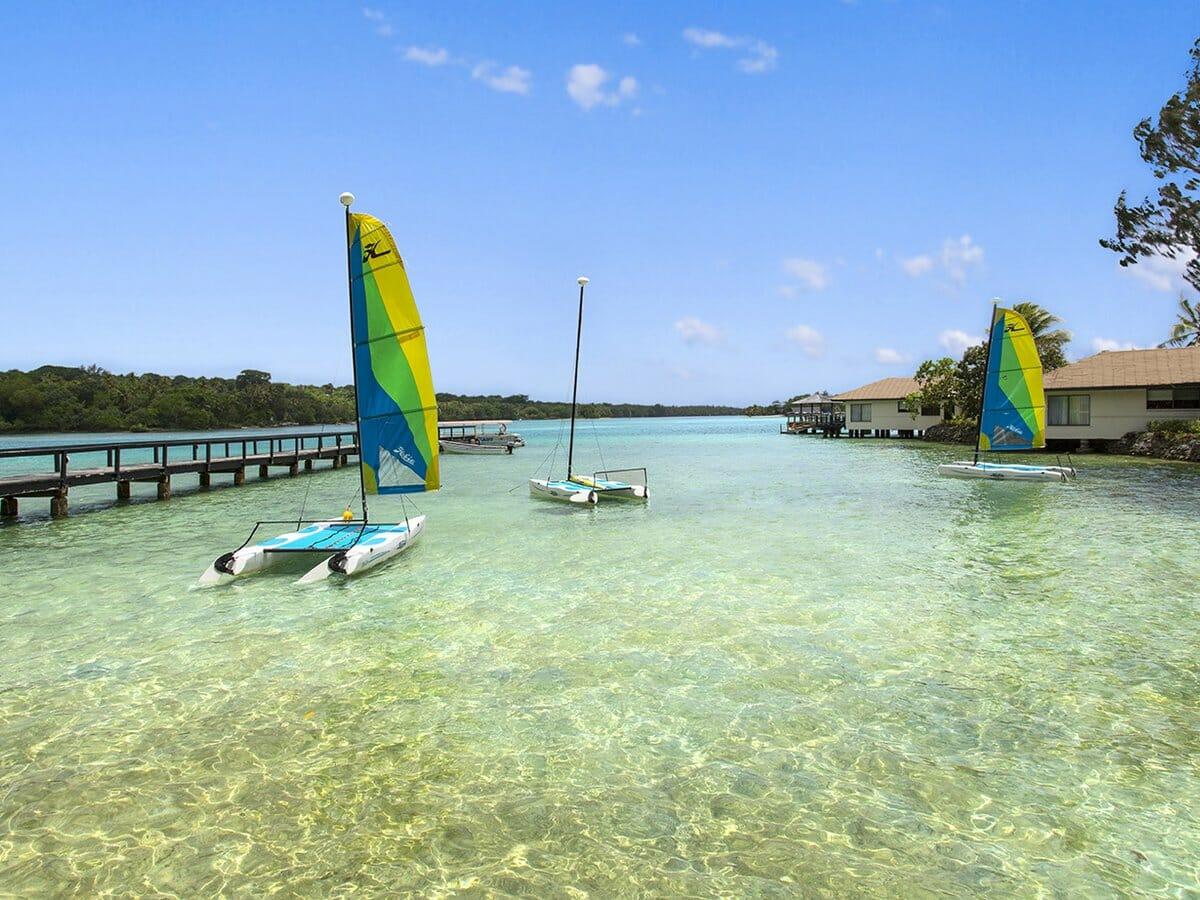 Warwick Le Lagon Vanuatu Gallery Image of Watersports