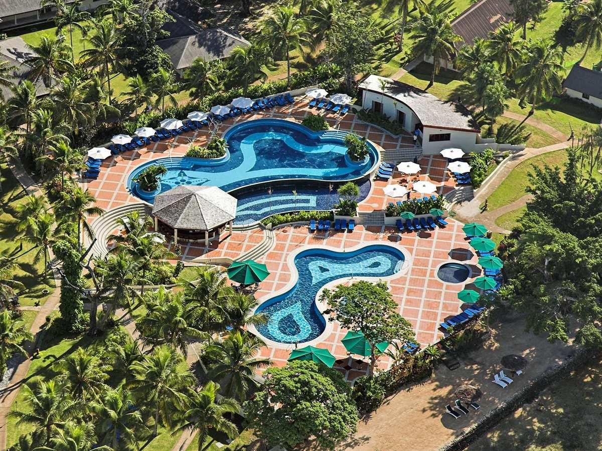 Warwick Le Lagon Vanuatu Gallery Image - Aerial of Resort