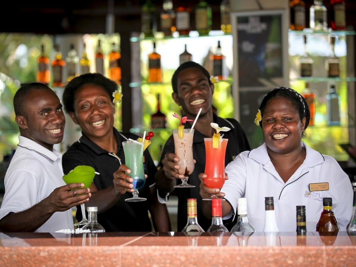 Warwick Le Lagon Vanuatu Gallery Image of Friendly Staff