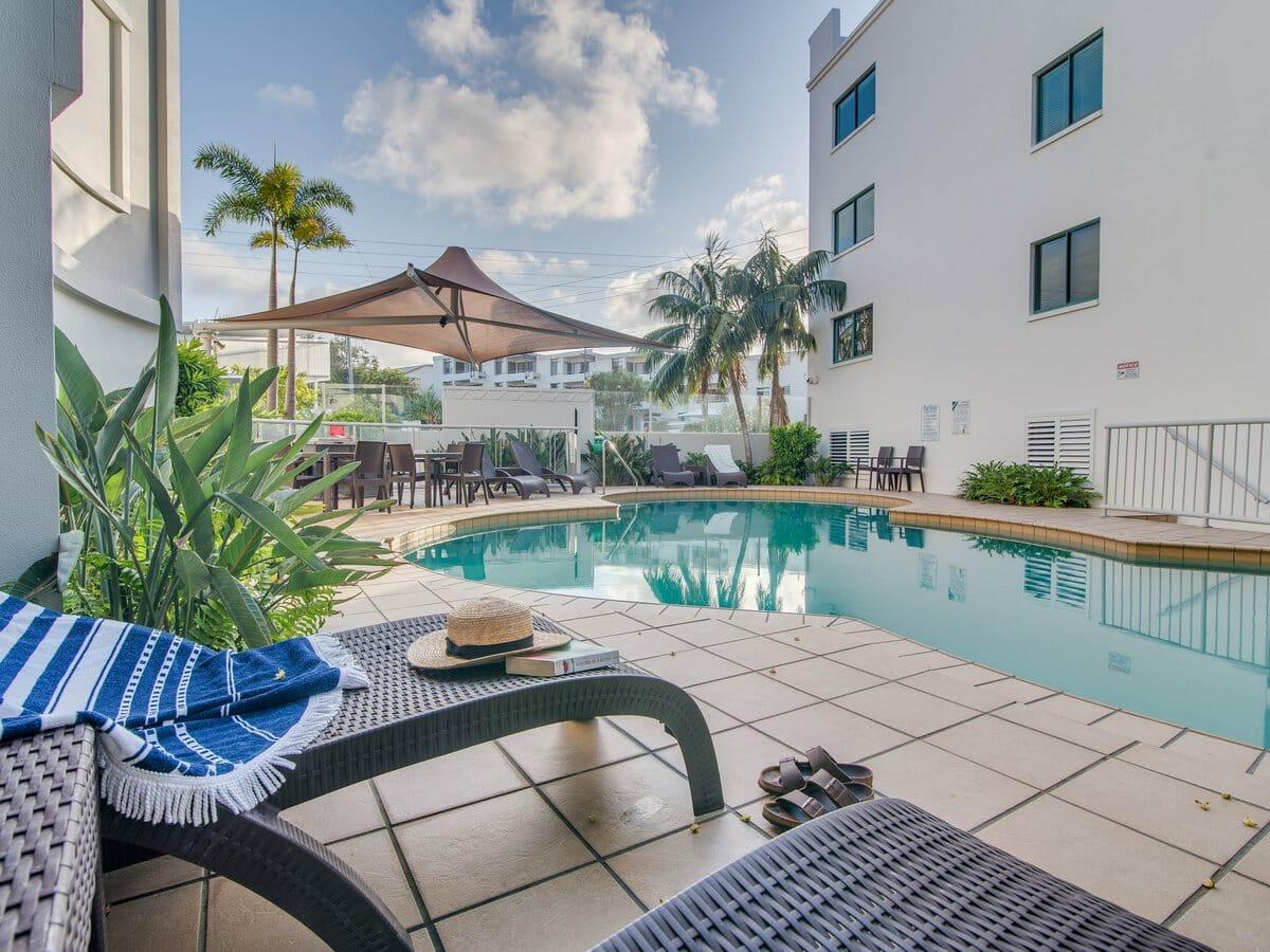 Grand Palais Beachside Resort Gallery Image of Pool Area