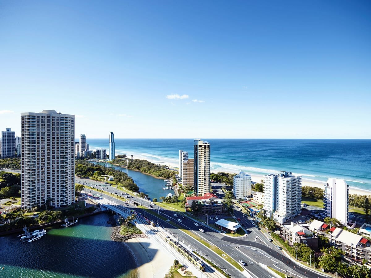 Surfers Paradise Marriott Gallery - View of Gold Coast beaches