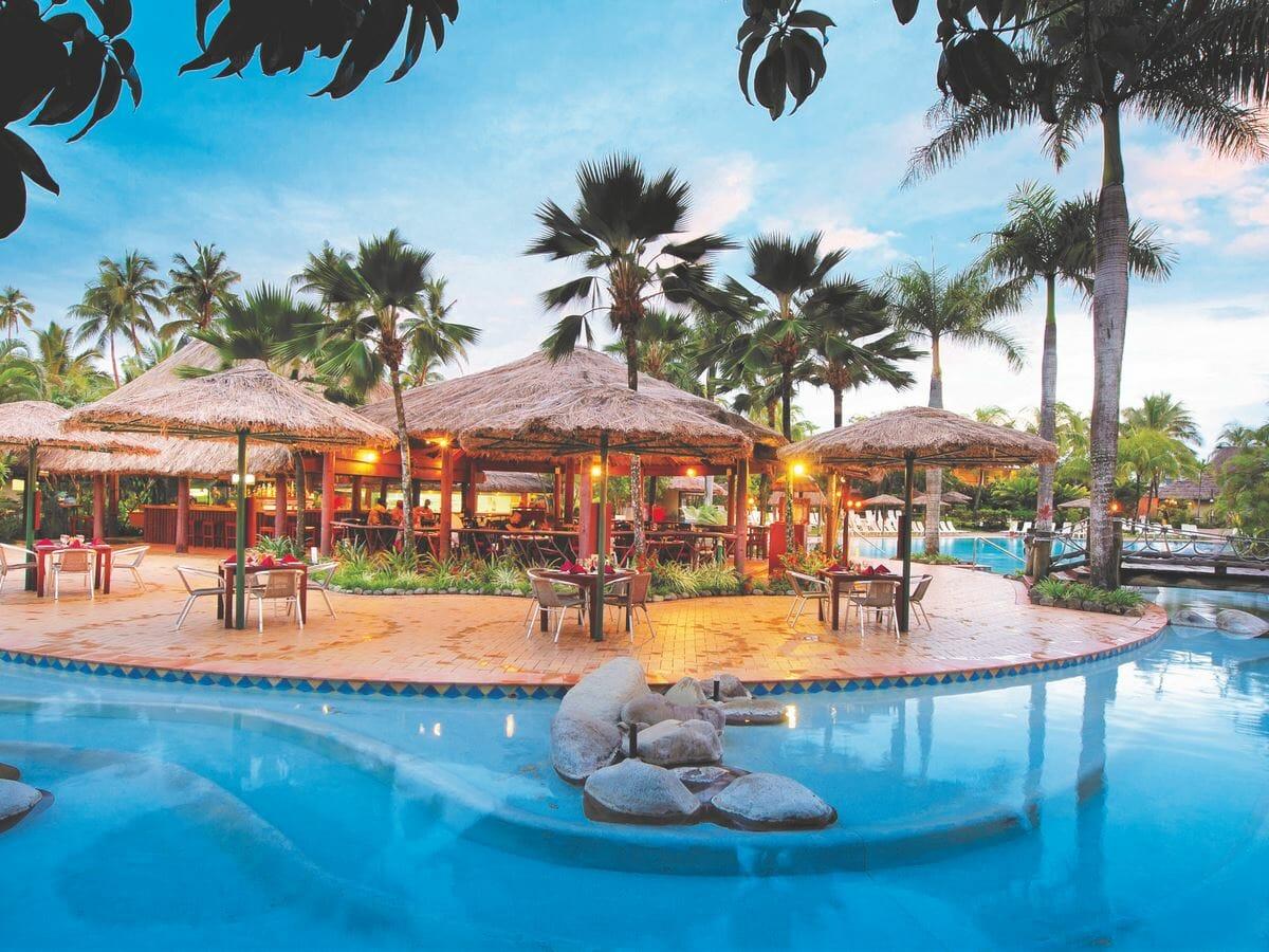 Outrigger Fiji Beach Resort Gallery Image of Baravi Pool