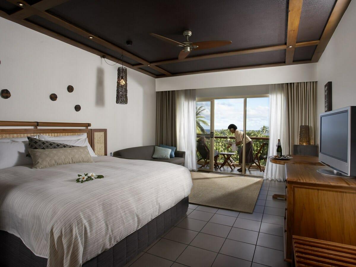 Outrigger Fiji Beach Resort Gallery Image of Deluxe Ocean View Room