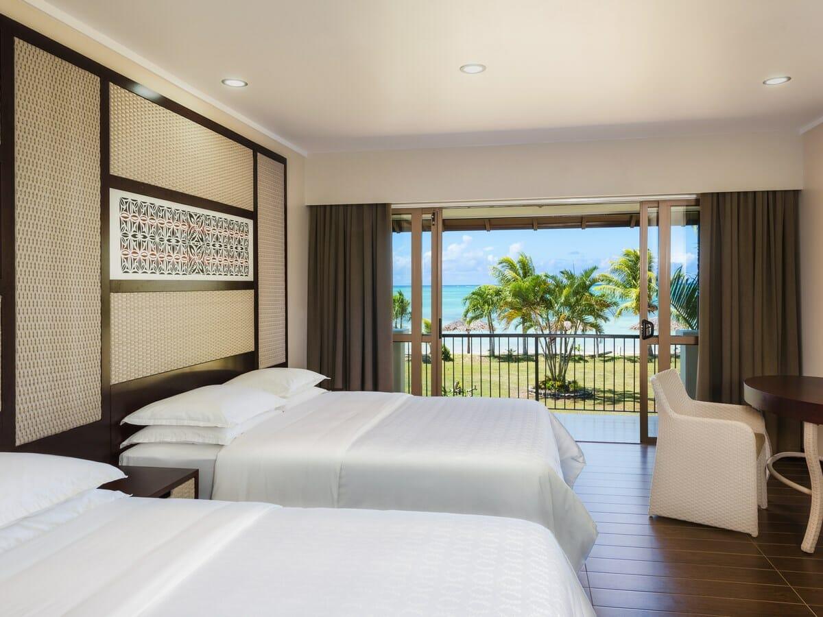 Sheraton Samoa Beach Resort deluxe twin