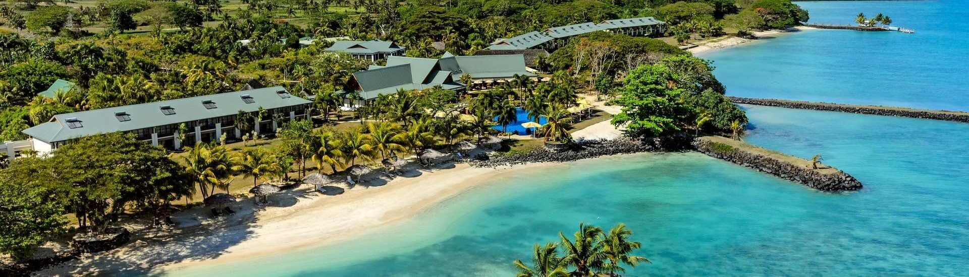 Sheraton Samoa Beach Resort Hero Image of Resort & Beach