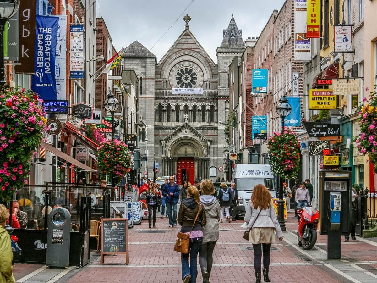 New York to Amsterdam Cruise Gallery Image of Dublin, Ireland