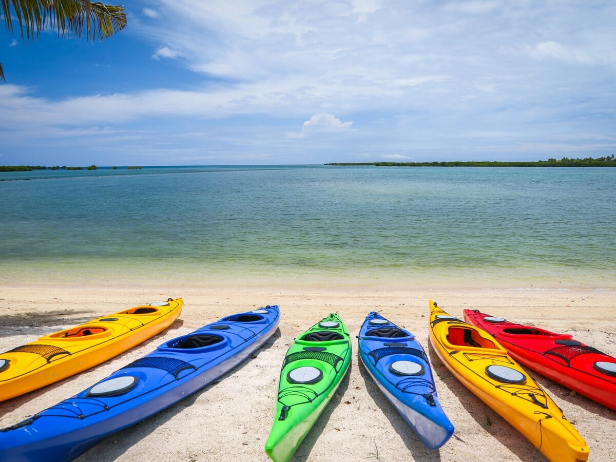 Fiji Hideaway Resort & Spa Vuda Gallery Image of canoes by the beachside