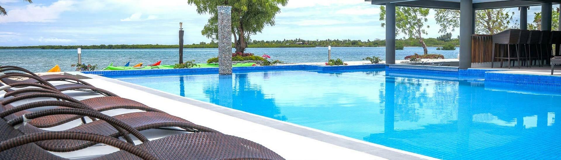 Fiji Hideaway Resort & Spa Vuda Hero Image of Swimming Pool