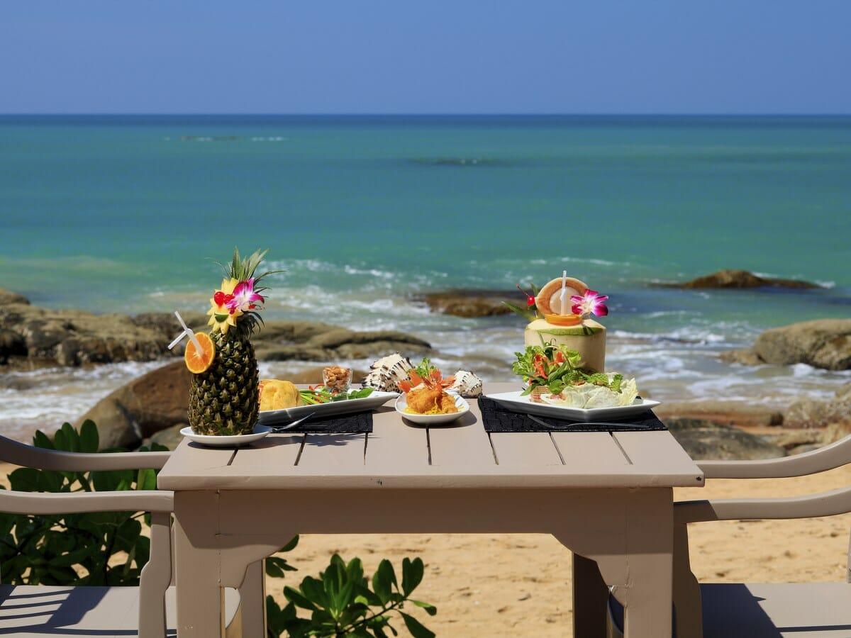Moracea by Khao Lak Resort Gallery Image of Beachside Dining