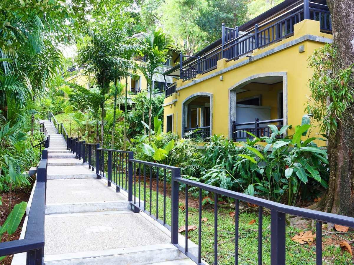 Moracea by Khao Lak Resort Gallery Image of Jasmine Superior Room Walkway