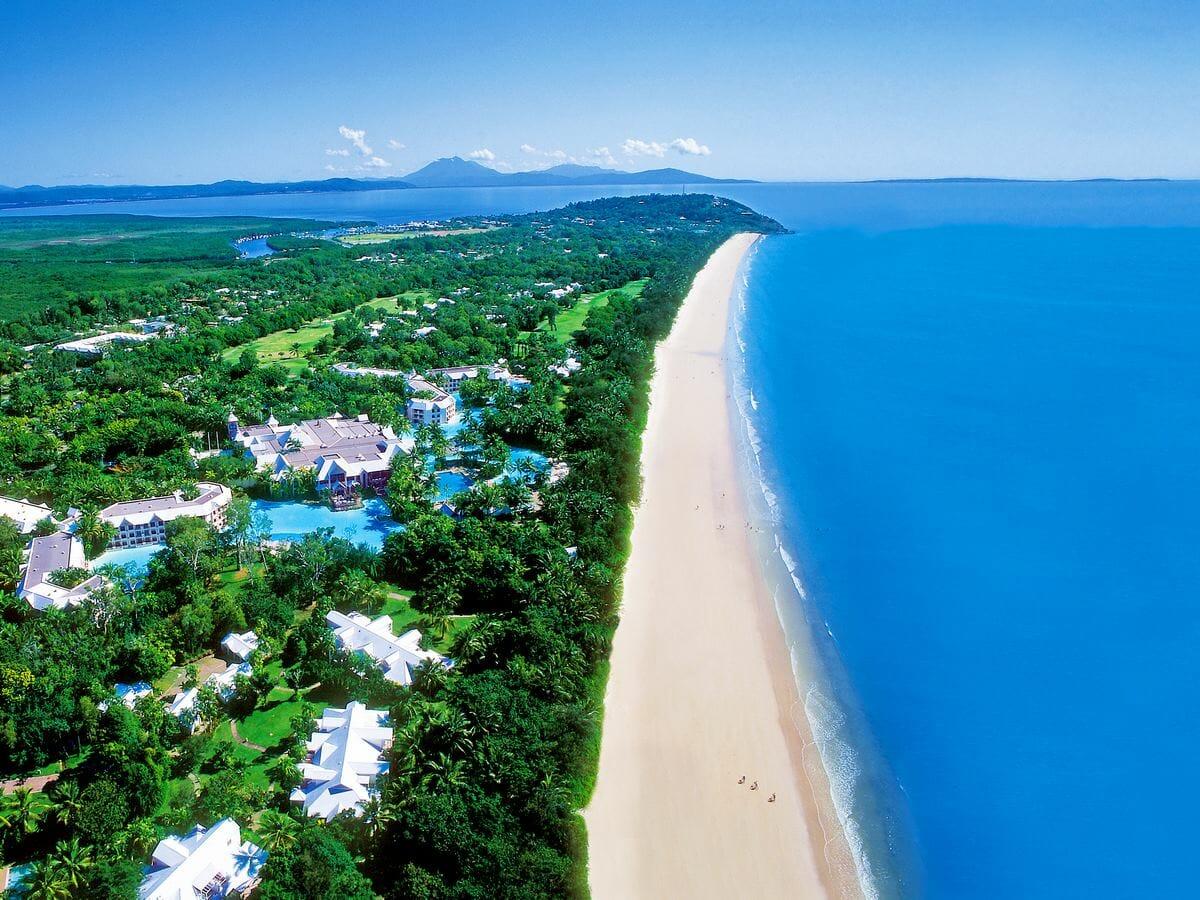 Sheraton Grand Mirage Port Douglas Gallery Image of Aerial of Port Douglas Coast Line