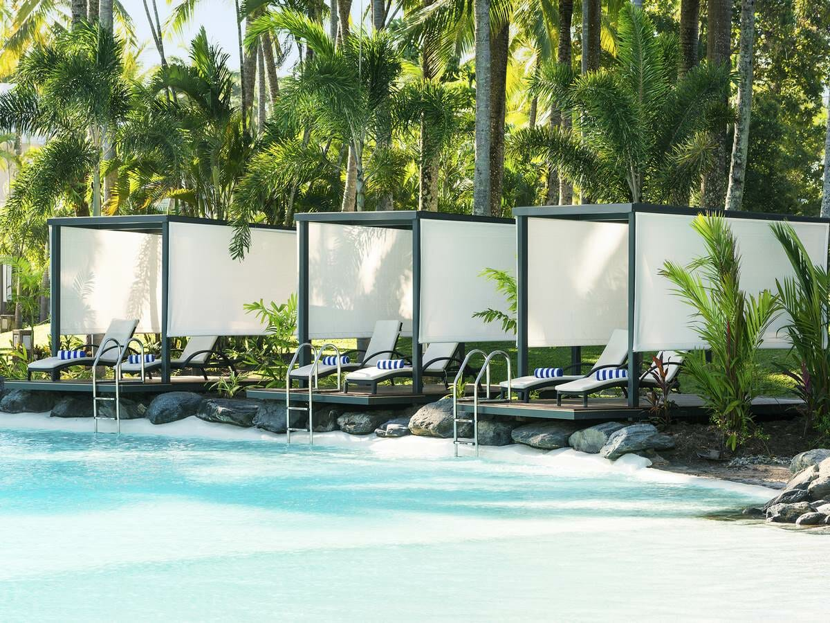 Sheraton Grand Mirage Port Douglas Gallery Image of Cabanas by the pool