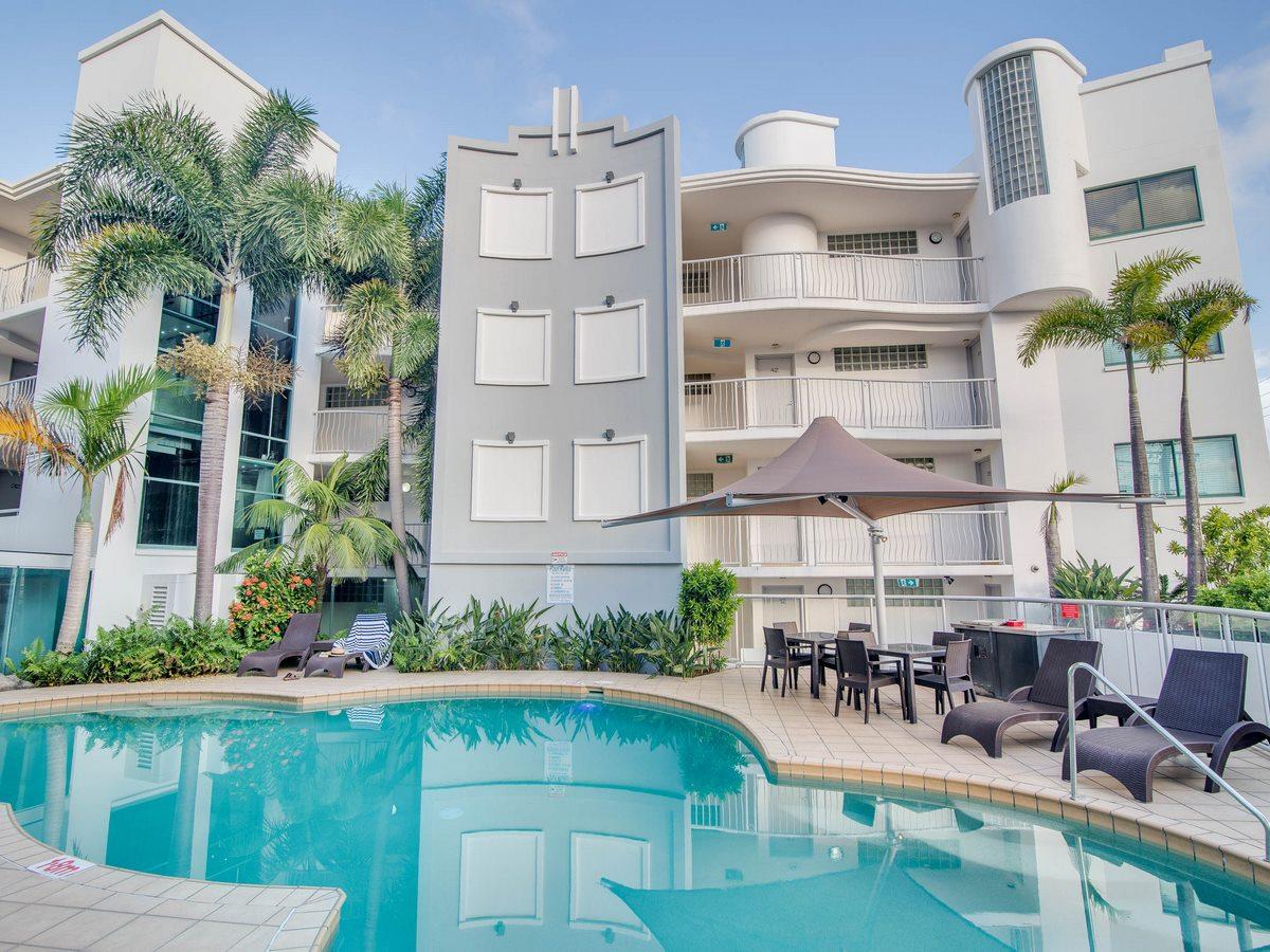 Grand Palais Beachside Resort pool