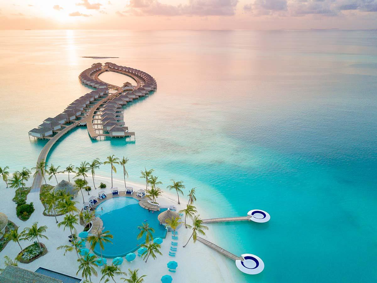 Kandima Maldives aerial