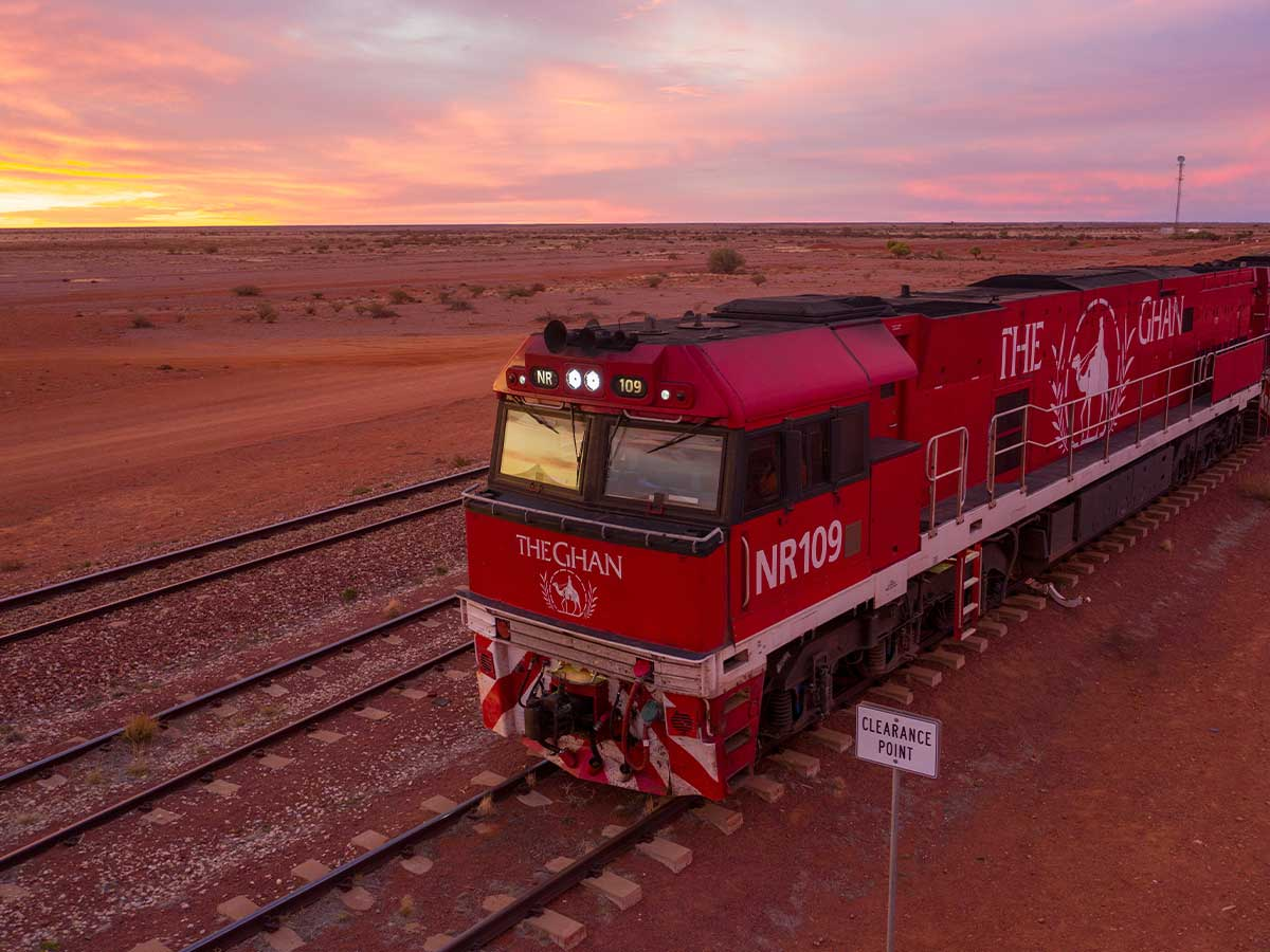 The-Ghan-Expedition-sunset