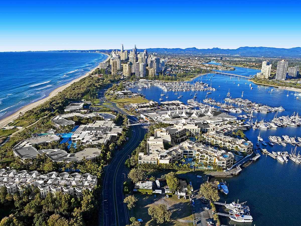 Sheraton-Grand-Mirage-Resort-Gold-Coast-aerial