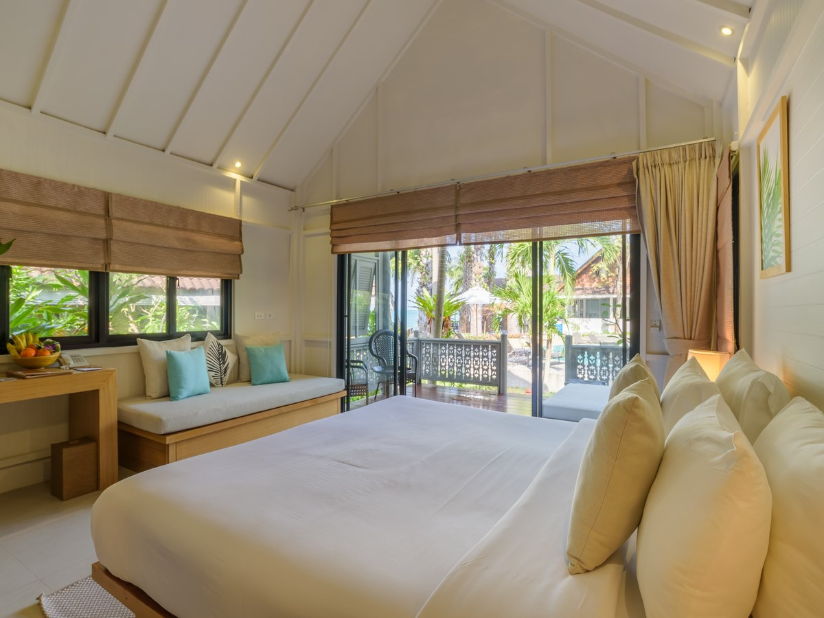 paradise samuia villa bedroom