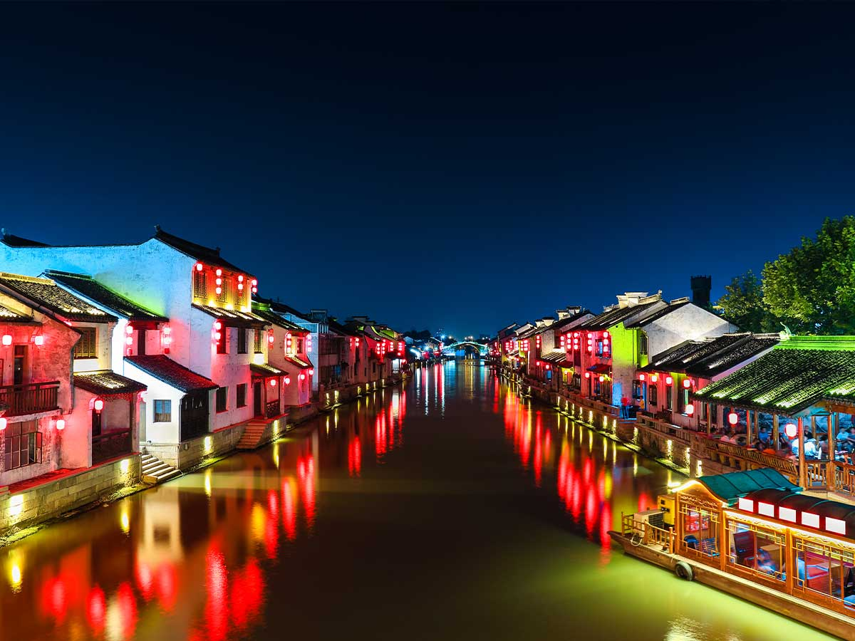 wuxi china at night
