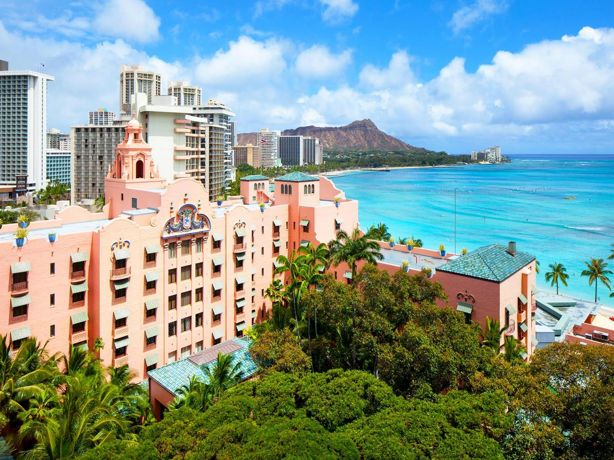 The Royal Hawaiian-Historic-Building