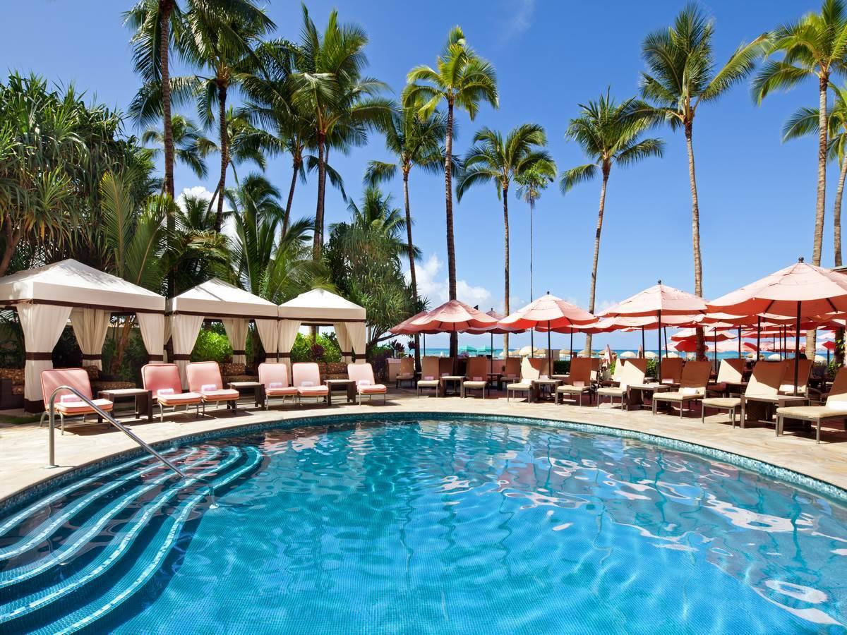 The Royal Hawaiian pool