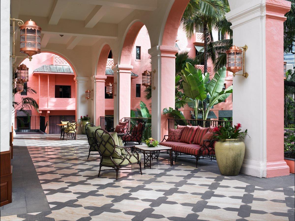 The Royal Hawaiian foyer