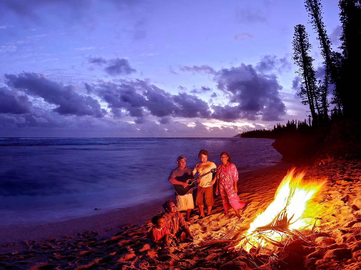 Mare-New-Caledonia-evening