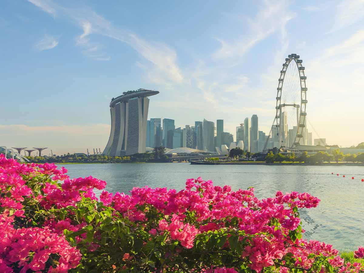singapore-daytime-view