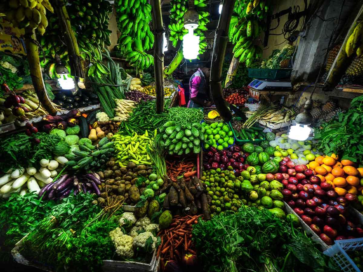 Market stall Sri Lanka