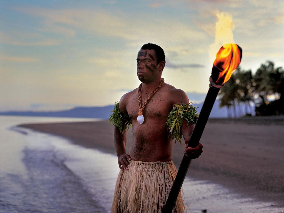 the-Westin-Denarau-Island-Resort-Spa-warrior-torch