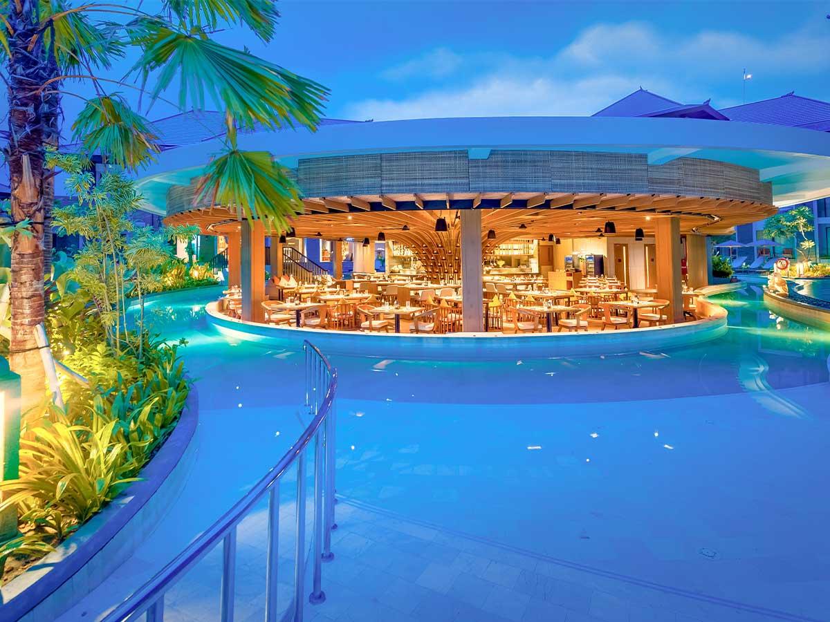 Courtyard by Marriott Bali Nusa Dua Resort dapur santai exterior