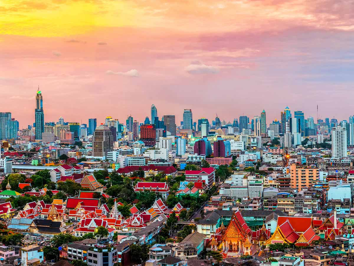 Bangkok-thailand-sunset