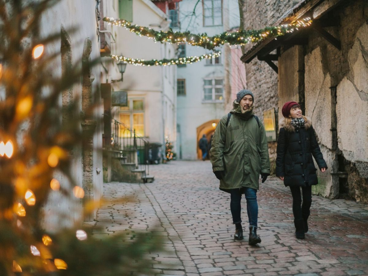 Christmas in Tallinn Estonia