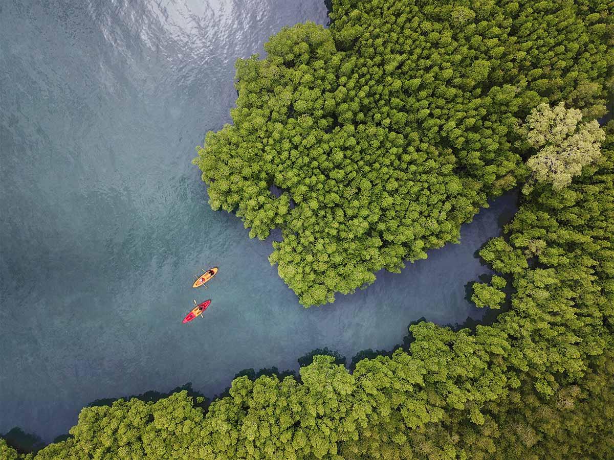 The Naka Island, A Luxury Collection Resort & Spa Phuket kayaking