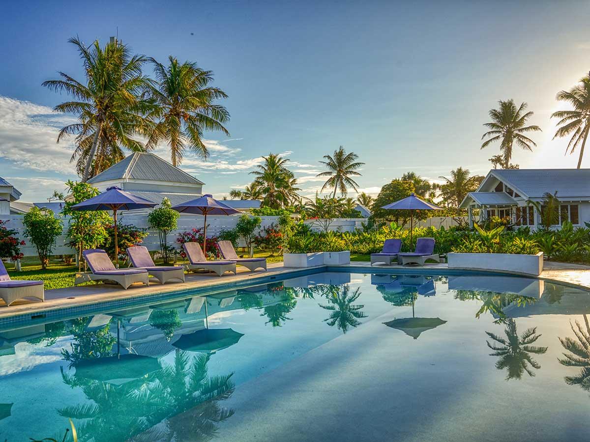tamanu on the beach pool view
