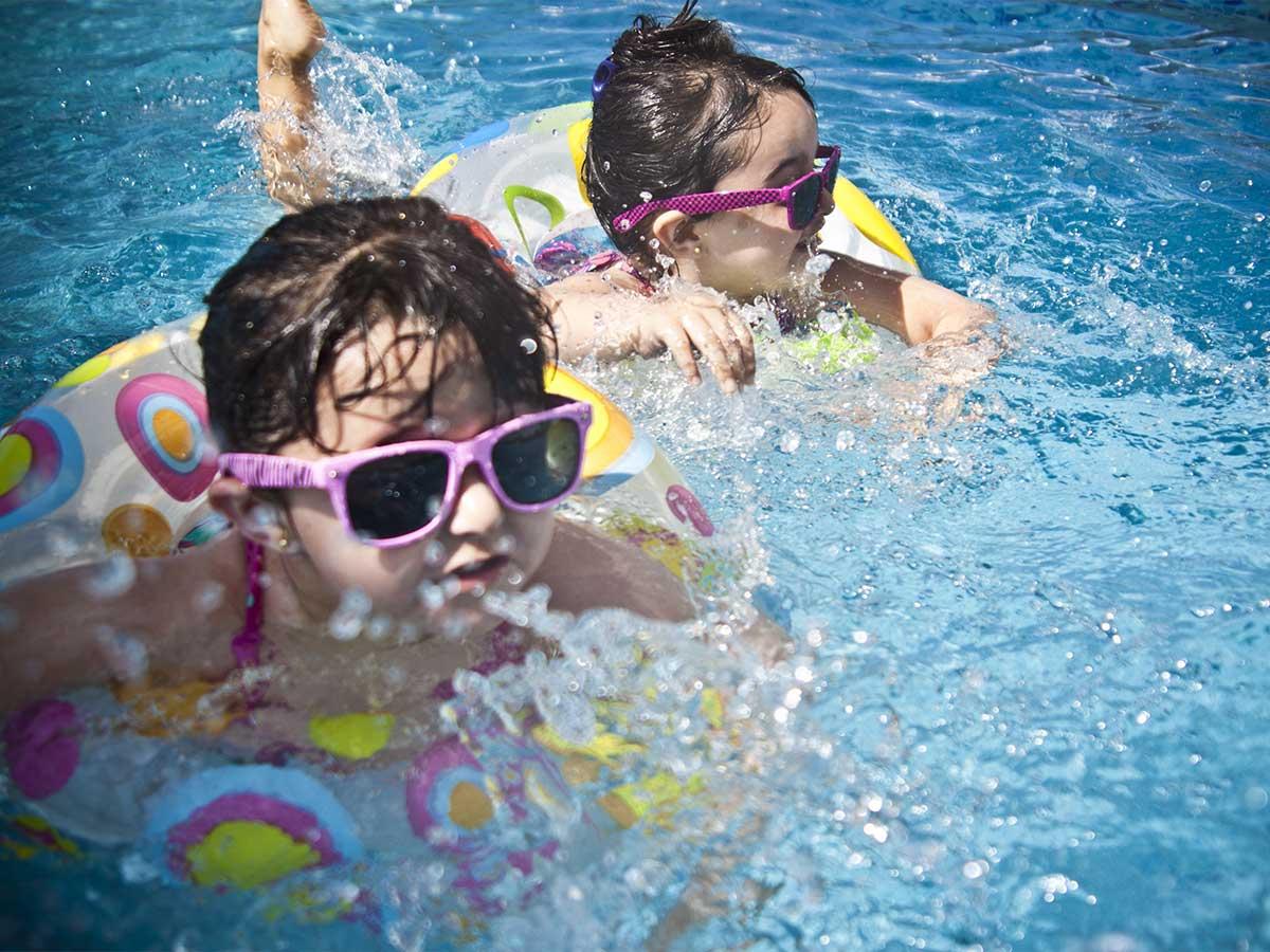 tamanu on the beach kids in the pool