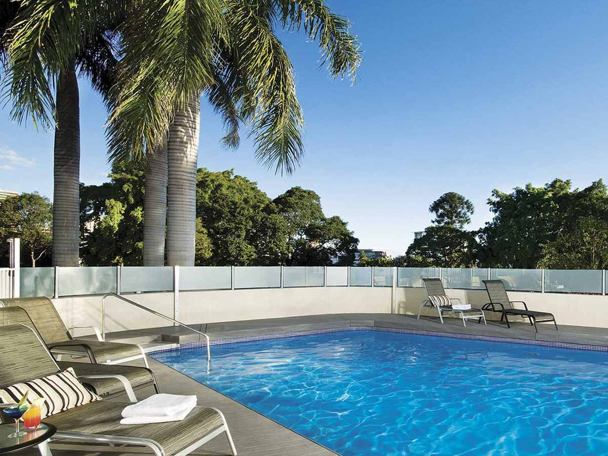The Park Hotel pool